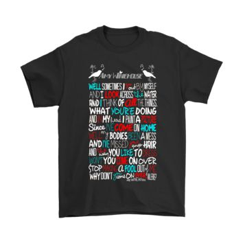 KUYOU Amy Winehouse Valerie Song Lyrics Shirts