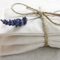 Lavender Drawer Sachets Cottage Chic Wedding Favor by Gardenmis
