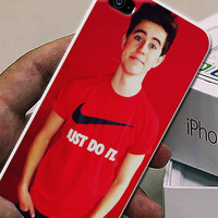 Nash Grier Red Cover for iphone, samsung galaxy and ipod case