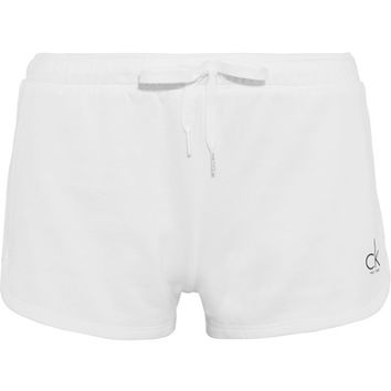 Calvin Klein Beachwear - Cotton-jersey shorts