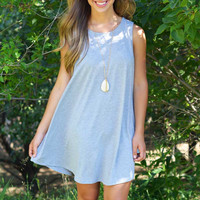 Everyday Essential Dress - Heather Grey