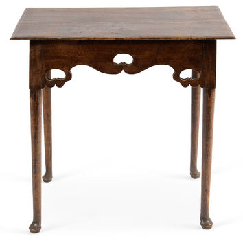 Queen Anne-Style Center Table, Game Tables & Other