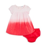 SplendidInfant Girls' Dip Dye Dress & Bloomers Set - Sizes 3-24 Months