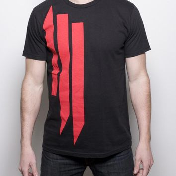 Skrillex Shirt // 'Ill' Logo Red