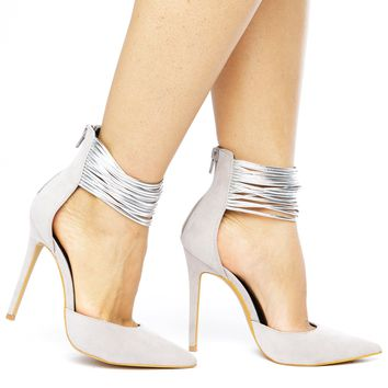 SPLENDID HEEL - GREY