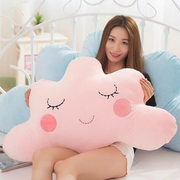 Cute Cloud Shaped Pillow Cushion Stuffed Plush Toy Bedding Home Decoration Gift love live plush