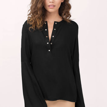 Clarice Bell Sleeve Blouse