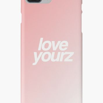'love yourz' iPhone Case/Skin by petervuart