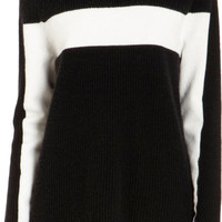 Broad Stripe Pullover Sweater
