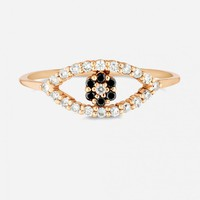 Primary New York: Carbon & Hyde Evil Eye Mini Ring