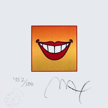 Smile, Limited Edition Lithograph, Peter Max