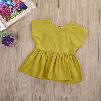 Newborn Toddler Baby Girl Princess Mini =Dress Party Wedding Pageant Clothes Casual Outfits Baby Dresses