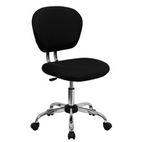Black Mid-Back Mesh Task Chair / Computer Office Chair