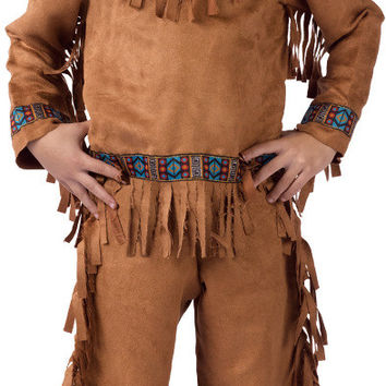 boy's costume: american indian | small
