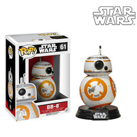 Funko POP Bobble-Head Vinyl Figure Movie Star Wars EP7 - BB-8 61 #  IN STOCK