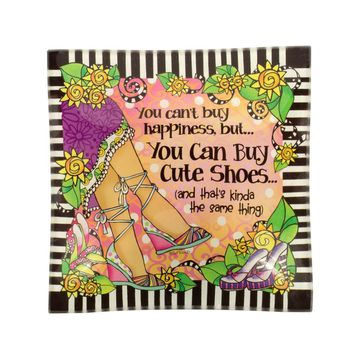 You Can Buy Cute Shoes - Trinket Tray