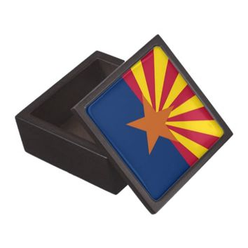 Arizona State Flag Premium Gift Box