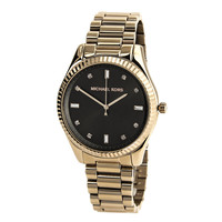 Michael Kors MK3227 Women's Felicity Brown Dial Mid-Size Rose Gold Steel Watch