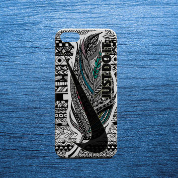 Nike Aztec Just Do It Feather Case for all phone device