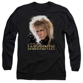 Labyrinth - Jareth Long Sleeve Adult 18/1 Officially Licensed Shirt