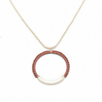 ZENZII That's A Wrap Circle Pendant