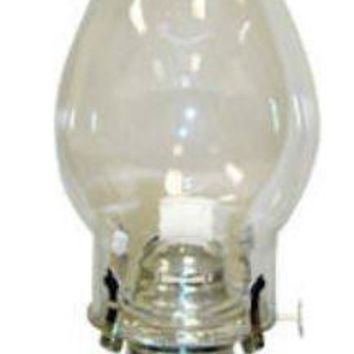 Lamplight® 330 Ellipse Oil Lamp, Clear Glass Optic Base