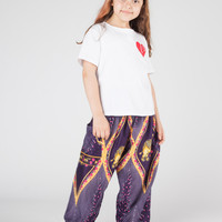 Kids Rapsu Purple Harem Pants