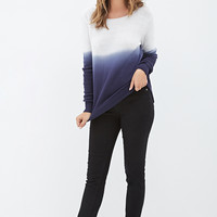 Dip-Dyed Sweater - Sweatshirts & Knits - 2000120592 - Forever 21 UK