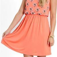 Ya Clothing Daisy Bow Back Dress YL15592
