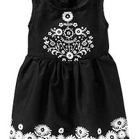 Floral-Detail Sundresses for Baby