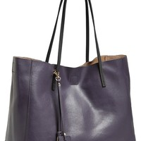 Women's POVERTY FLATS by rian 'Colorful' Faux Leather Shopper