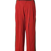 Marc by Marc Jacobs - Wool Spongey Twill Pants in Red Pepper Multi