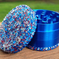 GRINDER -- The NEW Red White + Blue