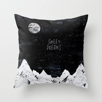 [ Sweet Dreams ] Throw Pillow by Daniel Coulmann