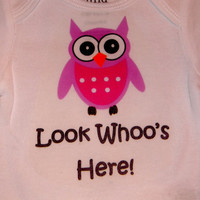 Baby Owl New Arrival Long Sleeve Onesuit. Can Be Customized By Size.