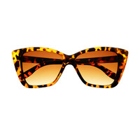 Fashionable Retro Vintage Style Square Cat Eye Sunglasses C1080