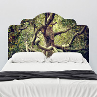 Tree of Life Adhesive Headboard Wall Decal - WallsNeedLove