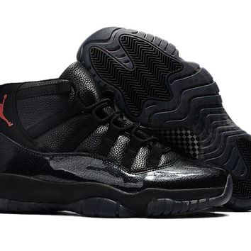 Air Jordan Retro 11 72-10 Space Jam Black Red With Box Bset Quality Basketball Shoes With Box Men size