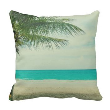 Decorative Pillows Beach Theme : Shop Beach Themed Pillows on Wanelo