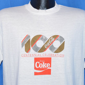 80s Coca Cola Centennial t-shirt Medium