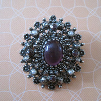 Decorative Vintage Brooch
