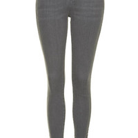 MOTO Grey Leigh Jeans - Grey