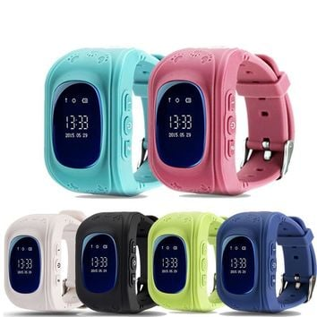 Q50 GPS Smart Kid Safe smart Watch SOS Call Location Finder Locator Tracker for Child Anti Lost Monitor Baby Son Wristwatch