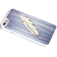 FEATHER AND DARK WOOD iPhone 6 Case iPhone 6+ Case iPhone 5 iPhone 5s case