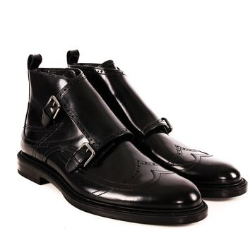 Jimmy Choo Monk Strap Boots