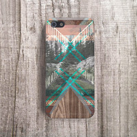 MENS Cases iPhone 5 Case Wood Print Geometric iPhone 5S Case Mens iphone Case Mens Gifts Mens Galaxy S4 Case Wood Print  FAUX WOOD