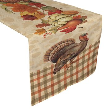 Bountiful Harvest Table Runner