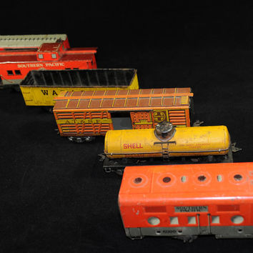 MARX Tin Train Set Circa 1950s - Big Boys Toy