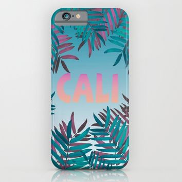 CALI VIBES iPhone & iPod Case by Nika   Society6