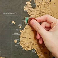 Scratch Map Deluxe - Urban Outfitters